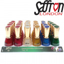 Nail Polish Saffron Glitter on Tray 11, 13ml