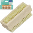 Hand brush wood 9,5cm 2 times assorted