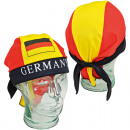 Fan pirate hat Germany made of polyester one-size