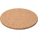 wholesale Table Linen: Coaster cork 17x1cm round - natural product