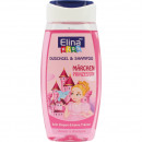 wholesale Drugstore & Beauty: Shower gel Elina Kids 250ml 2in1 princess