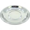 Edelstahl Teller 20 x 2 cm , ideal zum Servieren