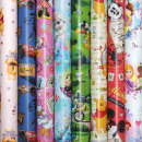 wholesale Licensed Products: Wrapping paper roll 2m x 70cm Disney motifs