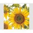 Servietten Premium 20er 33x33cm,3lg, Sonnenblume