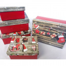 Gift boxes 6- times assorted XMAS mix