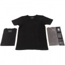 T-Shirt child black size 134-164 round neck &