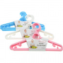 Hangers children 5s set 28x14,5cm colors sorti