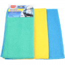 wholesale Cleaning: Microfibre CLEAN microfibre cloths 3x30x30cm