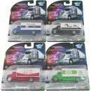 Play set truck 4- times assorted 1:64 on 10x4x3 ca