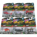 Play set vehicles metal 24 times assorted 1:64