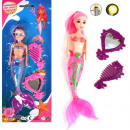 Doll mermaid 22cm with light + accessories