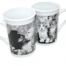 Coffee mug animals