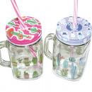 Glass Mug 450ml, 13,5x10,5 x7,5cm