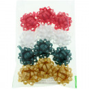 Mini-loops bag each 12pcs different colors