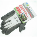 wholesale Garden & DIY store: Gardening gloves white / gray KD.16323