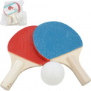 Table Tennis Racket Set Mini 2 Rackets & Ball