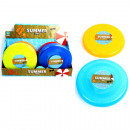 Frisbee 24cm 8 colors assorted in the Display