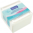 Cotton buds 200er Eckdose paper chopsticks 7,5cm