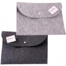 wholesale Miscellaneous Bags: Document bag felt approx. 33x24cm, 2 assorted colo