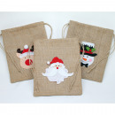 wholesale Bags & Travel accessories: Jute sack with great XL 5-ply application,