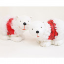 groothandel Speelgoed: Zoete ijsbeer 10x6x5cm 2 maal geassorteerd ,