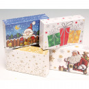wholesale Gifts & Stationery: Gift box 16x10x4cm 4 motives assorted ,