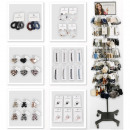Accessories assortment 612 pieces in metal Display