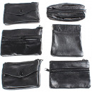 wholesale Wallets: Purse / Key case leather 6- times assorted