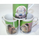 wholesale Toys: Coffee mug with bunny motif approx. 250ml, ...