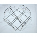 Napkin holder LUXURY chromed 19x19x7cm