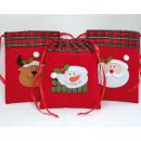 Großhandel Taschen & Reiseartikel: Filztasche mit großer Applikation 19x15,5cm,