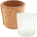 wholesale Candles & Candleholder: Cork-glass container with noble cork cover ...