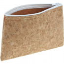 wholesale Bags & Travel accessories: Cork-pencil case with zipper 18x12,5cm,