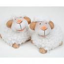 hurtownia Zabawki pluszowe & lalki: Owce z przytulanki futra i słodkiej twarzy 6,5x5,5