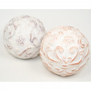 Deco ball XL 9x9cm with great surface structure