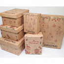wholesale Gifts & Stationery: Gift box nature 'Merry Christmas'6 ...