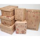 Gift box nature 'Merry Christmas'6 sizes i