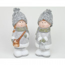 wholesale Childrens & Baby Clothing: Child with wool knit hat 13x5cm ceramic