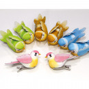 wholesale Garden & DIY store: Great decorative bird as a set of 2 7x3cm