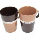 Coffee mug conical COFFEE 12x8.5cm