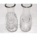 grossiste Plats: Carafe en verre classique 20x7,5x7,5cm