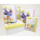 Gift box 10.5x8x6cm - 20.5x15.5x8.5cm Easter