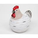 Nemes csirke trend alakban 9,5x7,5 cm