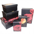Gift or storage box, black design