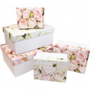 wholesale Artificial Flowers: Gift or storage box rose design