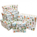 Gift or storage box Jungle design