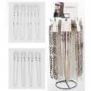 wholesale Household & Kitchen: Glasses chain assortment 72 pieces in metal ...