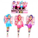 Doll fairy 13cm 3 colors assorted