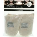 wholesale Decoration: Shoe deodorant bag of 2 with cedar wood shavings