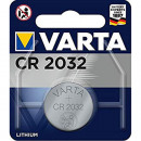 Battery Varta button cell CR2032 1er on card